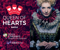 Picture of the queen of hearts raffle with Norton Children's Hospital Foundation